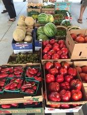 Farmer's market finds.